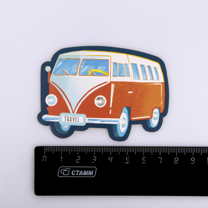 Наклейки на чемодан «Милые путешественники», 8 × 8 см