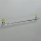 Держатель для полотенец одинарный Accoona A11806K-1, цвет зелёный