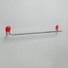 Держатель для полотенец одинарный Accoona A11806N, цвет красный