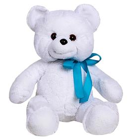 """Мягкая игрушка """"Медведь Саша"""", цвет белый, 47 см"""