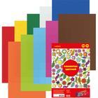 Фоамиран цветной, набор А4, 1 мм, deVENTE, 10 листов х 10 цветов