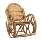 Кресло-качалка NOVO МИ с подушкой, цвет Мёд (сидушка)
