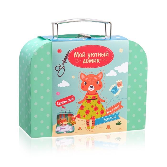 Игровой набор для детского творчества Мой уютный домик «Лисичка», МИКС