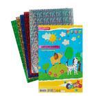 Бумага цветная голографическая, набор A4, deVENTE, 5 листов х 5 цветов, 120 г/м²