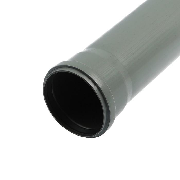Труба канализационная FLEXTRON, внутренняя, d=110 мм, 1500 мм - фото 669943
