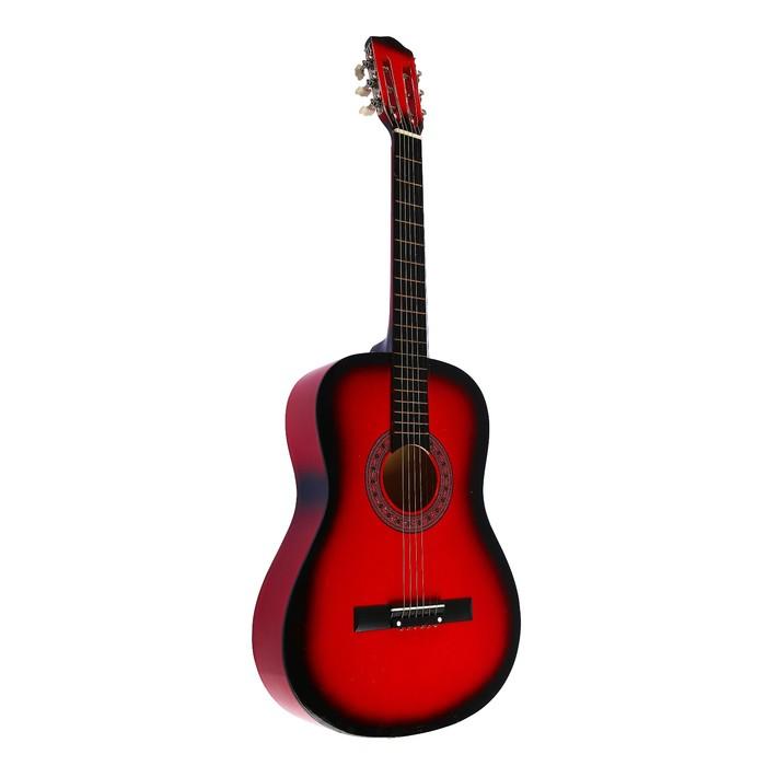 Гитара классическая, 6-ти струнная, цвет темного дерева