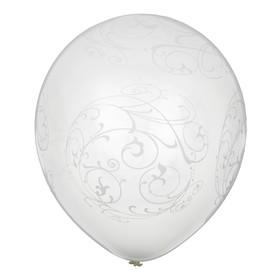"Balloon latex 12"" ""Pearl"" set of 6 PCs"
