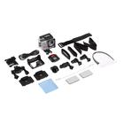 Экшн-камера Luazon RS-05, 4К, Wi-fi, чехол для подводной съемки, 18 предметов, серебристая