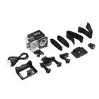 Экшн-камера Luazon RS-02, FHD, 7 предметов в комплекте, чехол, серебристая