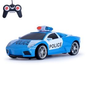 Машина радиоуправляемая «Ламбо - Полиция», масштаб 1:24, цвета МИКС