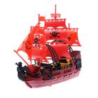 """Набор пиратов """"Пираты черного моря"""", работает от заводного механ,в ПАКЕТЕ"""