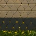 """Гирлянда """"Сеть"""", уличная на солнечной батарее Ш:2 м, В:1,5 м, Н.Т ,LED-192, 2 режима, свечение жёлтое"""
