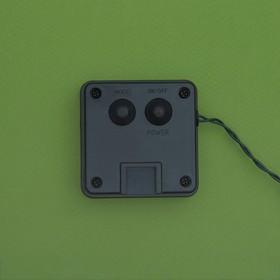 """Гирлянда """"Нить"""" 4.5 м с насадками """"Шарики"""", IP44, тёмная нить, 30 LED, свечение белое, 2 режима, солнечная батарея - фото 7414141"""