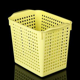 Корзина для хранения «Лофт», 2,8 л, цвет жёлтый