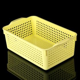 Корзина для хранения «Лофт», 3,8 л, цвет жёлтый