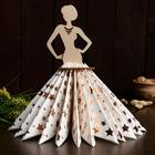 Салфетница «Дама в платье», 24,5×10×0,3 см