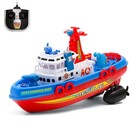 """The radio controlled boat """"Fire protection"""""""
