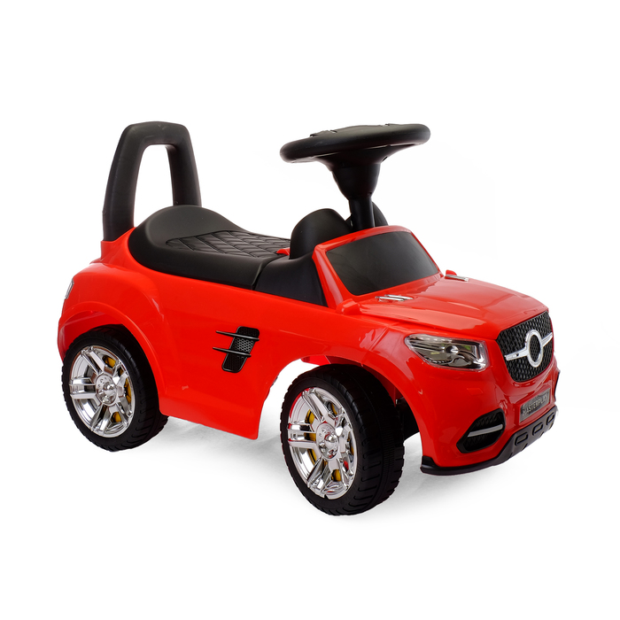 Толокар-автомобиль, цвет красный, в пакете