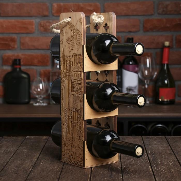 Ящик для вина «Бутылка»