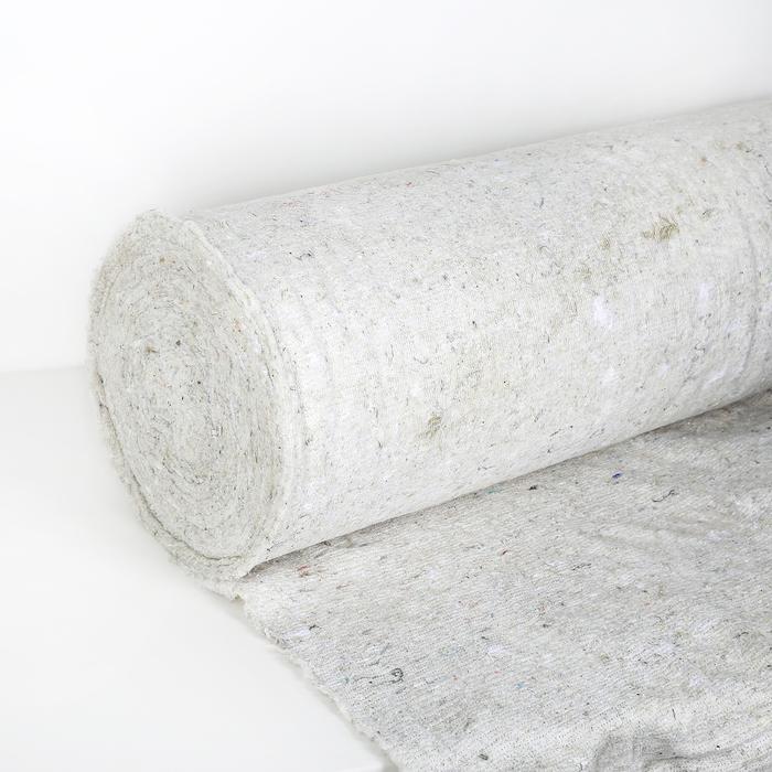 Нетканое полотно хлопчатобумажное (ХПП) 50 п.м., ширина 80 см, (2,5 мм), 230 г/м2