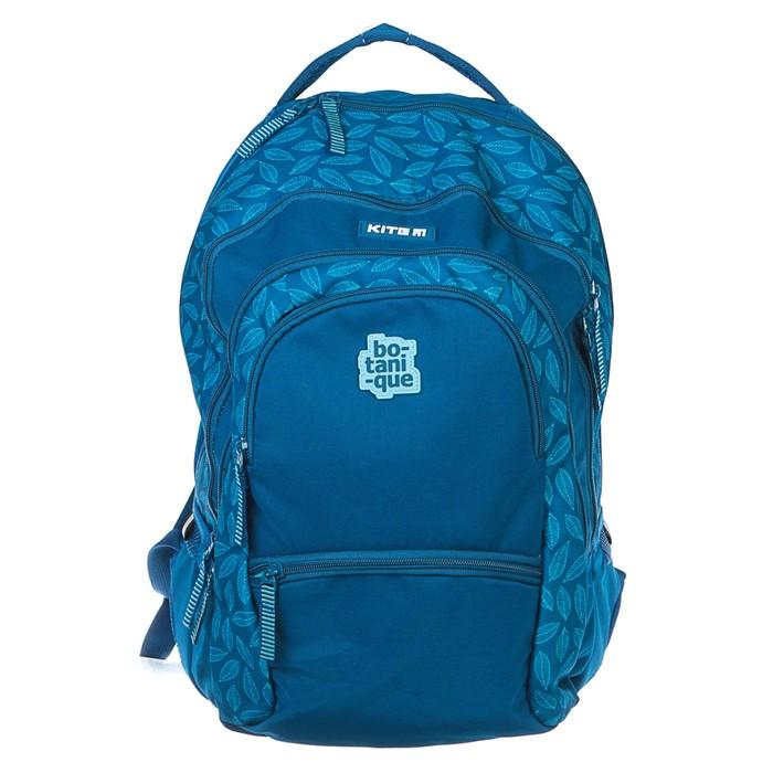 Рюкзак молодежный эргоном.спинка Kite 881 43.5*27.5*13.5 дев, синий K19-881L-1