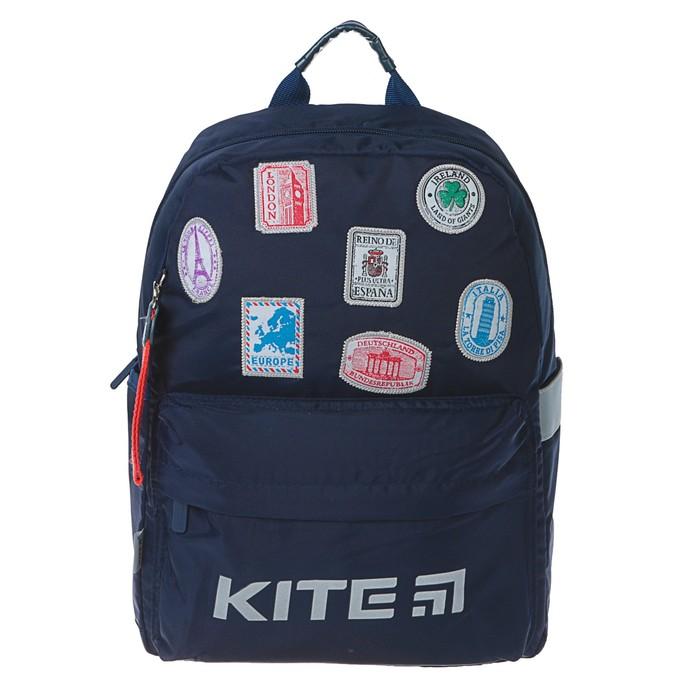 Рюкзак школьный эргоном.спинка Kite 719 38*26*11 Trips, синий K19-719M-3