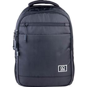 Рюкзак молодежный, GoPack 143, 43x30x11 см, эргономичная спинка, серый