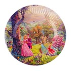 "Plate ""Sleeping beauty"" 18 cm"