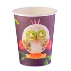 "Glass paper ""Owl"" 250 ml"