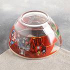Набор детской посуды «Мстители», 3 предмета: кружка 250 мл, салатник 500 мл, тарелка d=13 см - фото 105460163