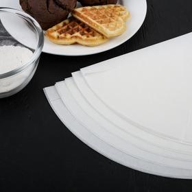 {{photo.Alt    photo.Description    'Пергамент силиконизированный для круглых форм Gurmanoff, d=36 см'}}
