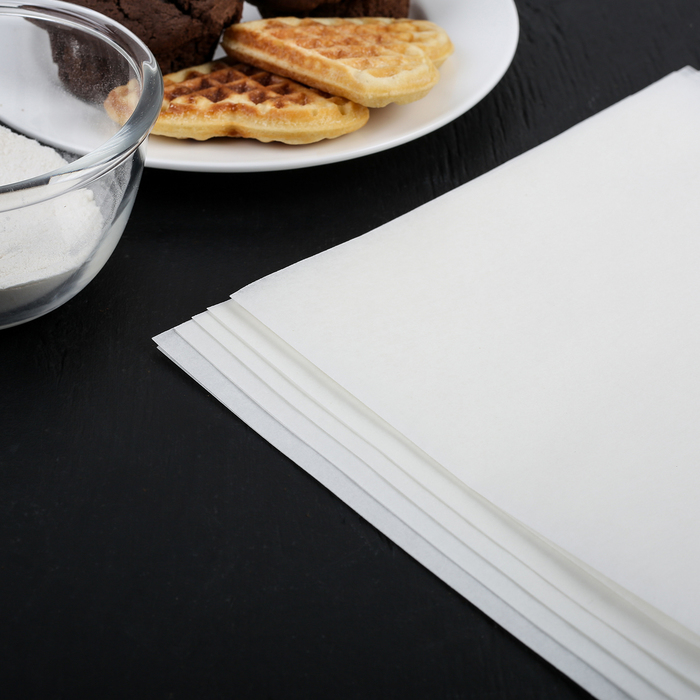 Пергамент силиконизированный в листах 38×42 см Gurmanoff, набор 5 штук - фото 308015321
