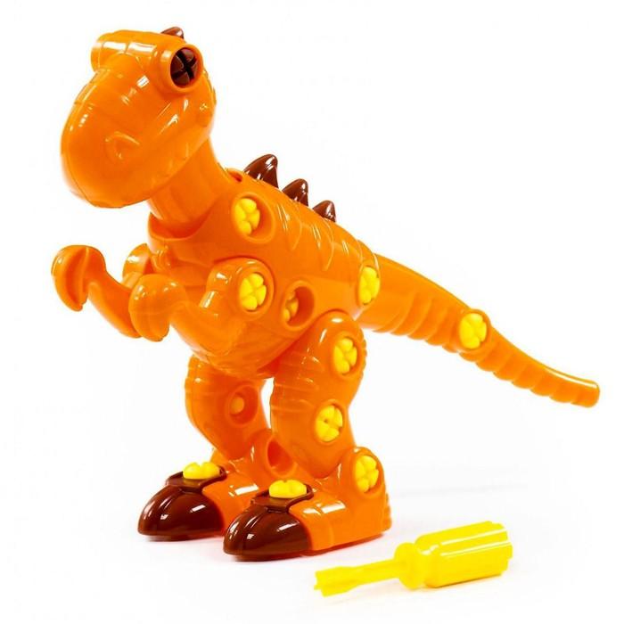 Конструктор-динозавр «Тираннозавр», 40 деталей