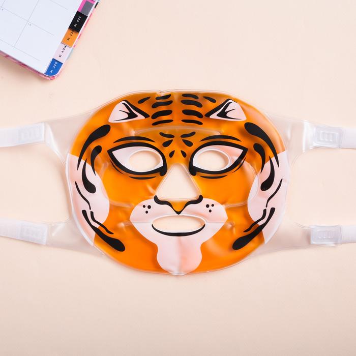 Маска для лица гелевая «Тигрица»