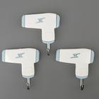 Набор крючков на липучке «Парикмахерская», 3 шт, цвет и форма МИКС - фото 308330783