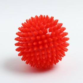 Massage ball ø9 cm, red