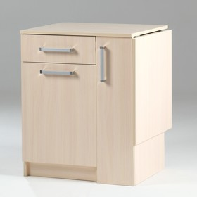 Стол письменный раскладной, 586(1100)х490х740, Дуб молочный