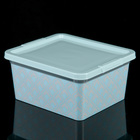 Коробка 1,9 л Illusion, цвет МИКС - фото 228166046