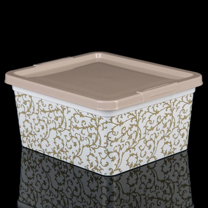 "Коробка 1,9 л ""Бельведер"", цвет МИКС - фото 258618842"
