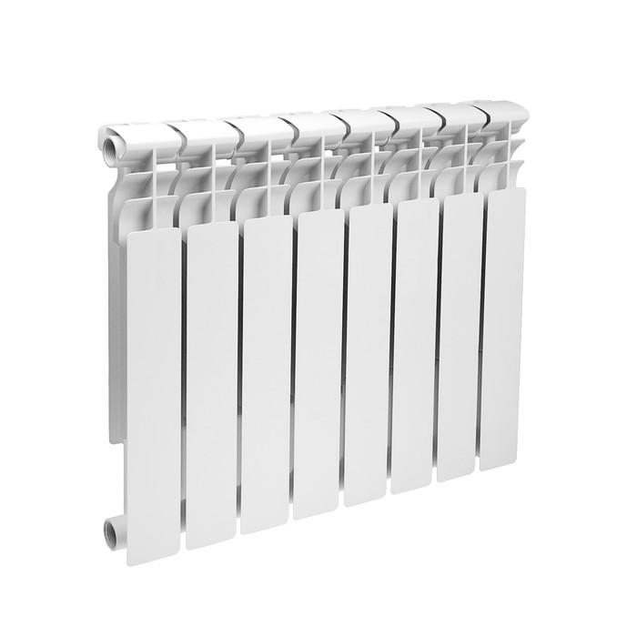Радиатор биметаллический Lammin ECO, 500х80 мм, 8 секций