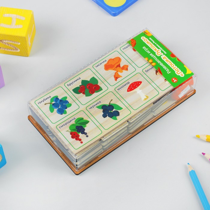Развивающая игра «Лотошка: Лукошко»