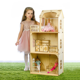Конструктор «Кукольный домик. Любава» без мебели