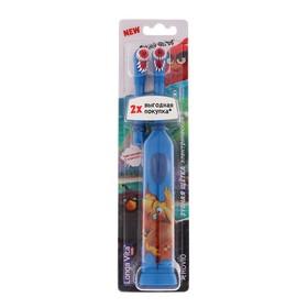 Электрическая зубная щетка Longa Vita Angry Birds KAB-1, вибрац., + насадка, от 3 лет, МИКС Ош