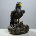 """Статуэтка """"Орёл с орлятами в гнезде"""" цветной, 42 см"""