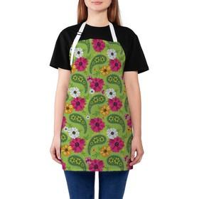 Фартук «Растительный орнамент», размер 68 × 65 см, оксфорд