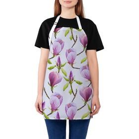 Фартук «Нежный цветок», размер 68 × 65 см, оксфорд
