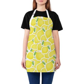 Фартук «Лимоны», размер 68 × 65 см, оксфорд