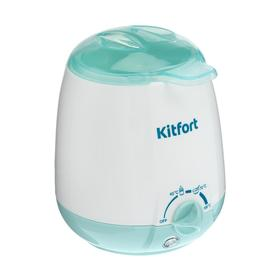 Подогреватель для бутылочек Kitfort КТ-2301, 100 Вт, 3 режима, 40/70/100 °С, белый