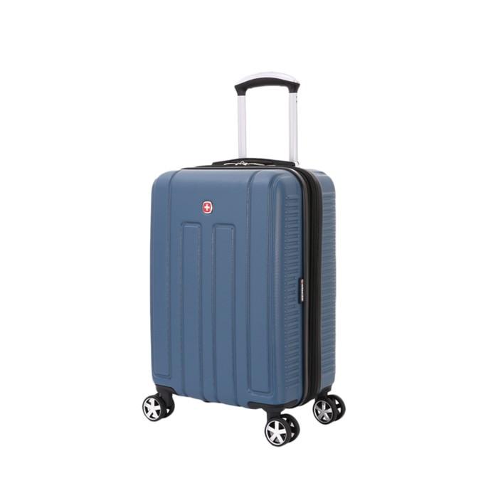 Чемодан Wenger VAUD, синий, с подставкой для кофе, АБС-пластик, 36 x 24 x 57 см, 38 л - фото 1057145