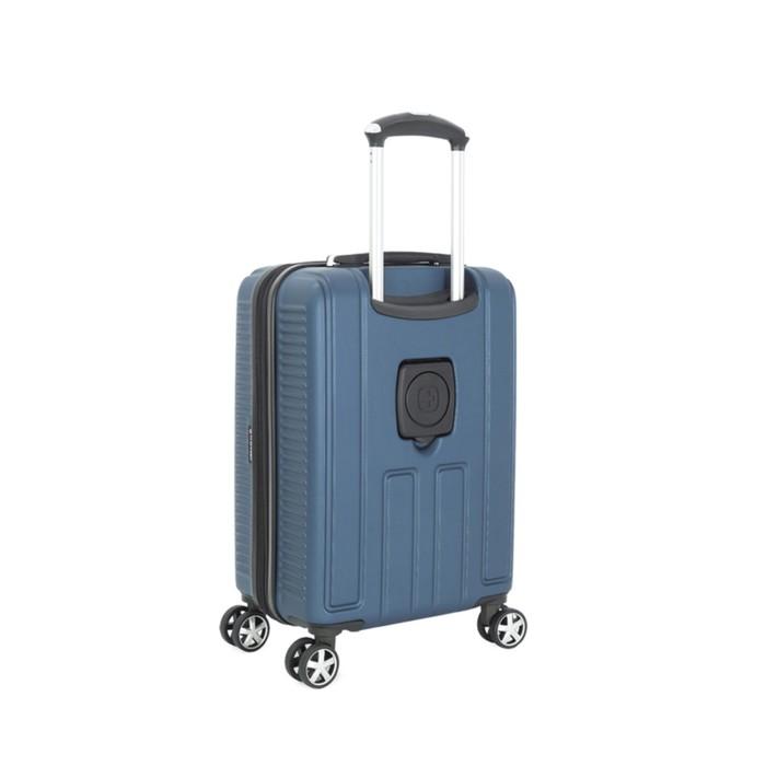 Чемодан Wenger VAUD, синий, с подставкой для кофе, АБС-пластик, 36 x 24 x 57 см, 38 л - фото 1057148